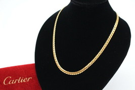 587 Cartier necklace 750 K18 Kihei Free Shipping 100% Authentic Japan bag - $2,630.31