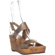 UGG Australia Elena Comfort Wedge Sandals, Metallic - $49.99