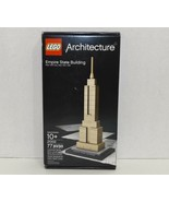 New! LEGO Architecture New York Empire State Building 77 pc Set (21002) {4352} - $69.29