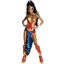 Anime Wonder Woman Costume Womens DC Comics Licensed Small Adult NEW - $63.00