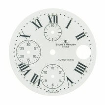 Baume & Mercier Geneve 29 mm Roman Numerals White Color Watch Dial - $189.00