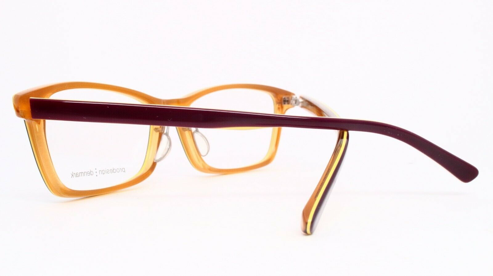 NEW PRODESIGN DENMARK 1759 1 c.3732 PLUM EYEGLASSES FRAME 55-15-140 MK358 Japan image 4