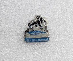 Classic NFL Football Lapel Hat Pin - Carolina Panthers Ericsson Stadium - $10.29