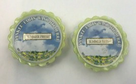 Yankee Candle Summer Fresh Tart Wax Potpourri .8 oz Retired Lot 2 - $29.69