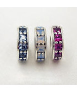 Pandora  Sterling Silver Eternity Spacer Charms with CZ - $25.00