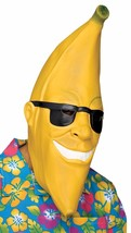 Banana Head Sunglasses Man Halloween Crazy Laugh Gag Face Mask Fun Costu... - $31.78