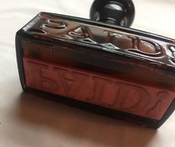 70s Avon Men's Stamp Decanter after shave bottle (Spicy After Shave) image 2