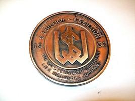 THE WESTERN & SOUTHERN  INSURANCE COMPANY , CINCINNATI OHIO BRONZE MEDAL... - $4.00