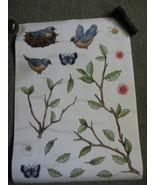 Bird wall stickers set of 3 - $13.00