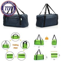 Holyluck Foldable Travel Duffel Bag For Women & Men Luggage Great For Gym - $22.23 CAD