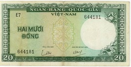 South Viet Nam 20 Dong 1964 VNS-16 - $3.19
