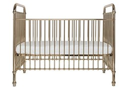 Incy Interiors Rose Gold Ellie Crib for Babies - Sturdy and Strong Metal... - $899.00