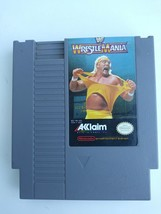 WWF WrestleMania Nintendo Entertainment System 1985 #NES-HN-USA - $9.69