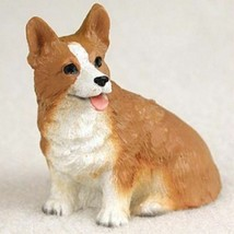 WELSH CORGI PEMBROKE TINY ONES DOG Figurine Statue Pet Lovers Gift Resin  - $9.95