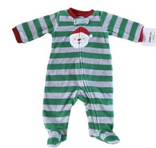 Child of Mine by Carters Santa Christmas Sleep and Play Sleeper Size NB NWT - $6.95