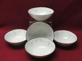 Five (5) Noritake China - Sarita Pattern # 7006 - Fruit / Dessert Bowls - $30.95