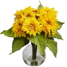 Golden Sunflower Arrangement - $51.82