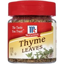 McCormick Specialty Herbs and Spices Whole Thyme Leaves (Pack of 2) - $14.84