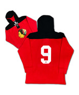 Bobby Hull Autographed Hoodie Red Chicago Blackhawks Jersey - $150.00