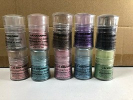L.A Colors Shimmering Loose Eyeshadow With Brush Choose Your Color New S... - $5.69+