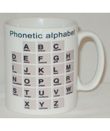 Phonetic Alphabet Mug Can Personalise Great NATO Police Scout Cadet Army... - $9.23