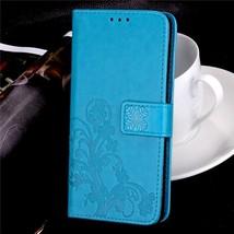 3D Flower Wallet Case For Xiaomi Redmi 6 6A Global Flip Leather Case For Xiaomi  - $13.58