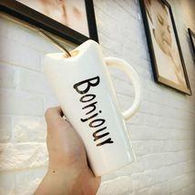 Juice Drink Bonjour Mugs Coffee Milk Tea Cup Drinkware Large Capacity - $34.95