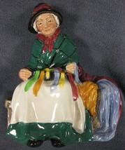 "Royal Doulton Silks and Ribbons HN2017 Figurine 6"" Vintage England 1948 image 1"