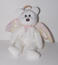 Ty Beanie Baby Halo Plush 9in Angel Teddy Bear Stuffed Animal Retired 1998 - $9.99