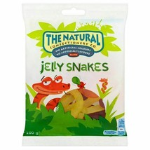 The Natural Confectionery Co Jelly Snakes 160g, 2 Pack - $5.88