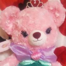 Disney Store UniBEARsity Haufuurozu Ariel Plush Doll Little Mermaid Bear... - $67.81