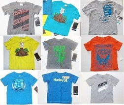 Hurley Infant / toddle boys tops Sizes-12M,18M,24M, 2T,3T NWT - $11.19