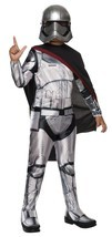 Rubies Star Wars Captain Phasma Boys Kids Children Halloween Costume 620086 - $32.40