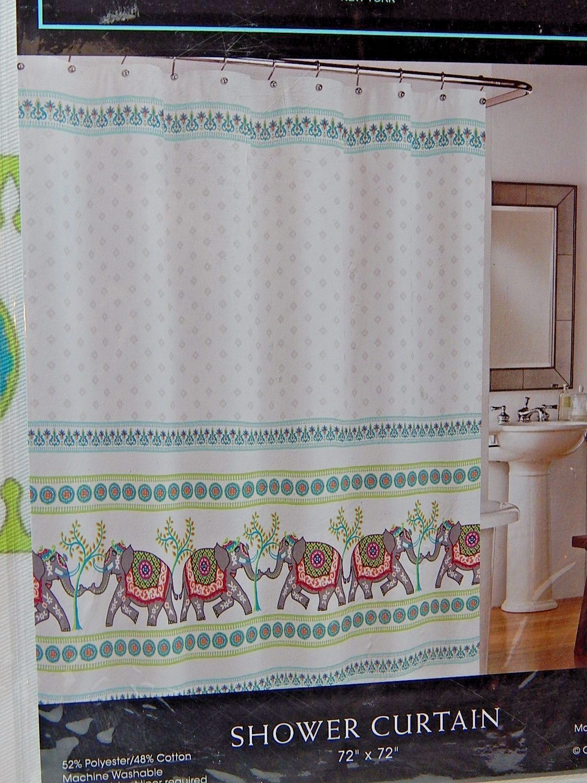 Cynthia Rowley Fabric Shower Curtain And 12 Similar Items