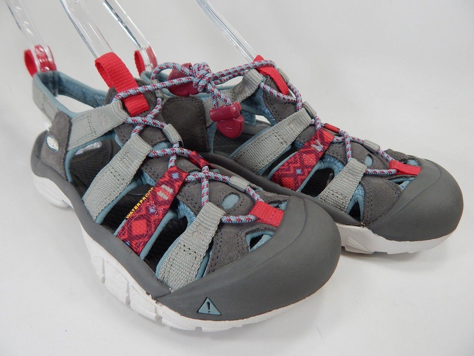 Keen Newport H2 Size US 7 M EU 37.5 Women's Sports Sandals Gray / Red / White