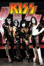 KISS 1996 Reunion Era 22 x 32 Custom Poster - Love Gun Rock Music - $45.00