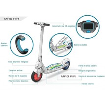 MotoTec Mad Air 36v 10ah 350w Lithium Electric Scooter Commutes  up to 25 Miles image 5