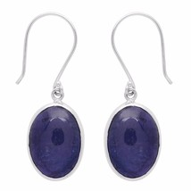 21.0 Carat Tanzanite Gemstone 925 Sterling Silver Earring Shine Jewelry ... - $103.03