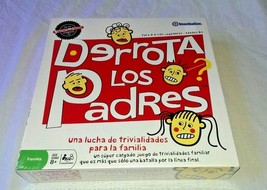 Derrota Los Padres Defeat the Parents triva Spanish family game NIP sealed - $30.86