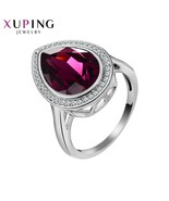 Gh quality crystals from swarovski new arrival hot sale ring for women wedding jewelry thumbtall