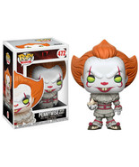 IT! The Movie Pennywise Clown with Boat Vinyl POP! Figure Toy #472 FUNKO... - $12.55