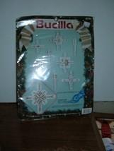 Bucilla Plastic Canvas #61147 Snowflake 8 ornaments 1991 - $10.84