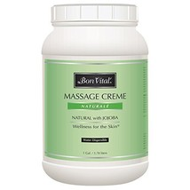 Bon Vital' Naturale Massage Crme, Professional Massage Therapy Cream wit... - $74.99