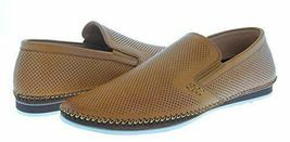 NEW ZANZARA Mens MERZ Slip-On Premium Perforated Leather Shoes image 7