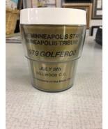 The Minneapolis Star Minneapolis Tribune 1979 Golferoo Dellwood C C Mug ... - $19.99