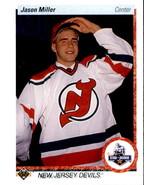 Jason Miller 1990-91 Upper Deck Star Rookie Card #335 - $0.99