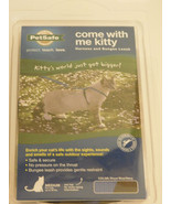 PetSafe Come With Me Kitty Harness and Bungee Leash,Medium, Royal Blue/Navy - $18.99