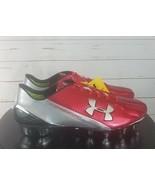 Under Armour Shoes 1258013-611-10 Men's Speedform MC Football Cleat Size 9  - $180.00