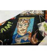 Vintage 1998 Nicole Miller Comics Animated Ski 100% Silk Necktie Collect... - $39.99