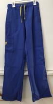Wonder Wink Womens Scrub Cargo Pants Size XST Style 5214T Blue 7 Pockets - $14.95